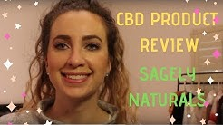 CBD Oil and CBD Cream Review | SAGELY NATURALS
