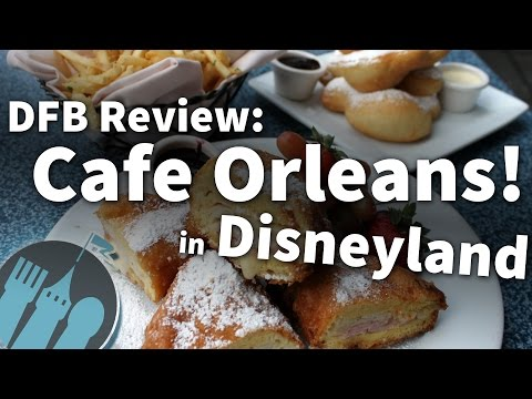 Review: Cafe Orleans in Disneyland!