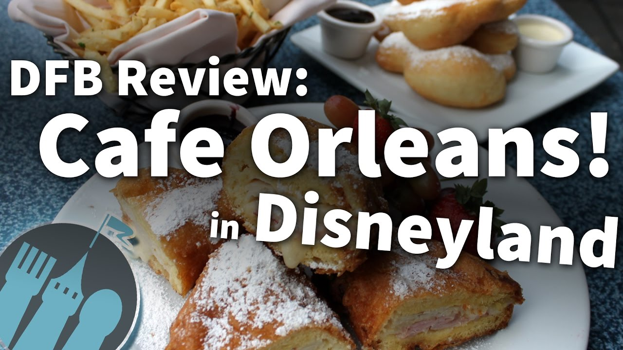 Cafe Orleans Disneyland Review
