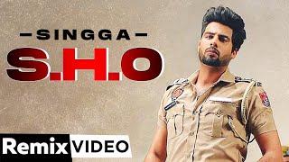 S.H.O (Remix)   Singga ft BN Sharma   MixSingh   Latest Punjabi Song 2021   Speed Records