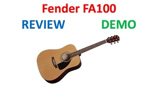 Fender FA-100 Guitar Review