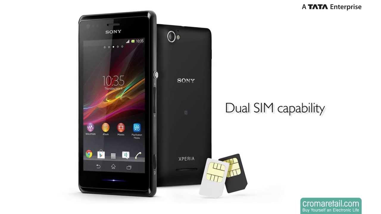 sony xperia dual sim phones