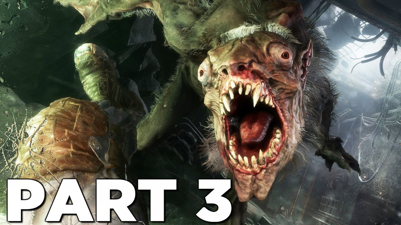METRO EXODUS Walkthrough Gameplay Part 3 - MUTANTS (Xbox One X)