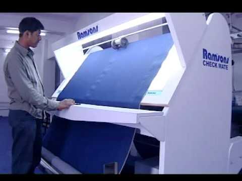 Ramsons Fabric Inspection Machine Youtube