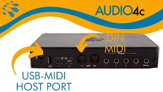 AUDIO4c: Making MIDI Connections
