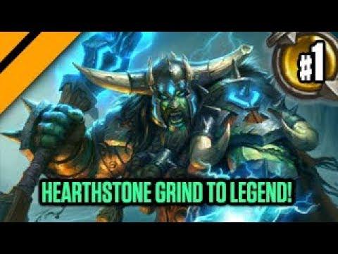 Hearthstone Grind to Legend! P1