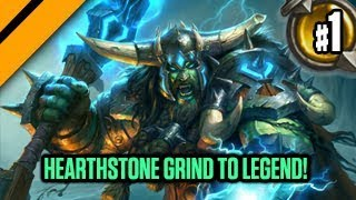 Video Hearthstone Grind to Legend! P1 download MP3, 3GP, MP4, WEBM, AVI, FLV Desember 2017