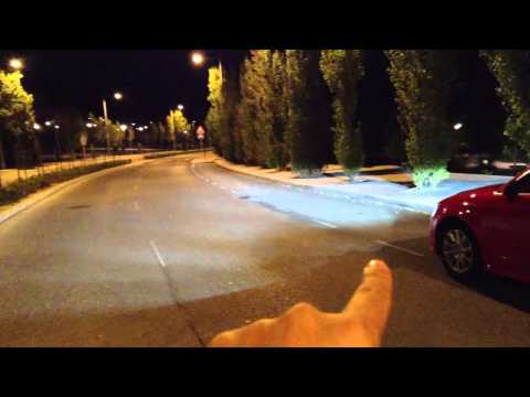Audi A3 con faros de Led con Dynamic Adaptative Light y su función de iluminación de peatones