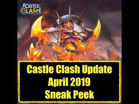 Castle Clash Update Preview April 2019 New Hero Skins Talent Pet