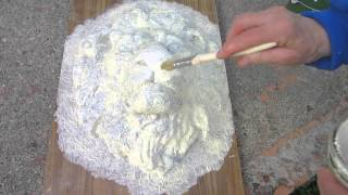 Concrete Lion Head - the Latex Mold