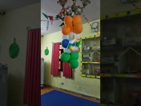 EuroKids Sanganer branch, Independence day Celebration decoration