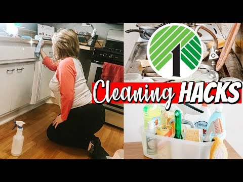 DOLLAR TREE CLEANING HACKS! / ULTIMATE CLEANING MOTIVATION 2018 / DANIELA DIARIES