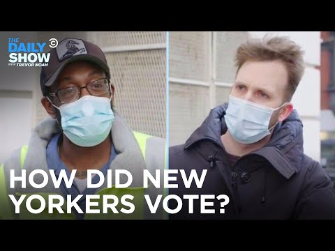 Election Day in New York City - Jordan Klepper Fingers the Pulse | The Daily Show