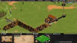 Age of empires II - GAME 1 - Grunthor vs WolfSilver- BATTLE POUR LE TITRE
