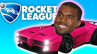 Kanye West and Rocket League