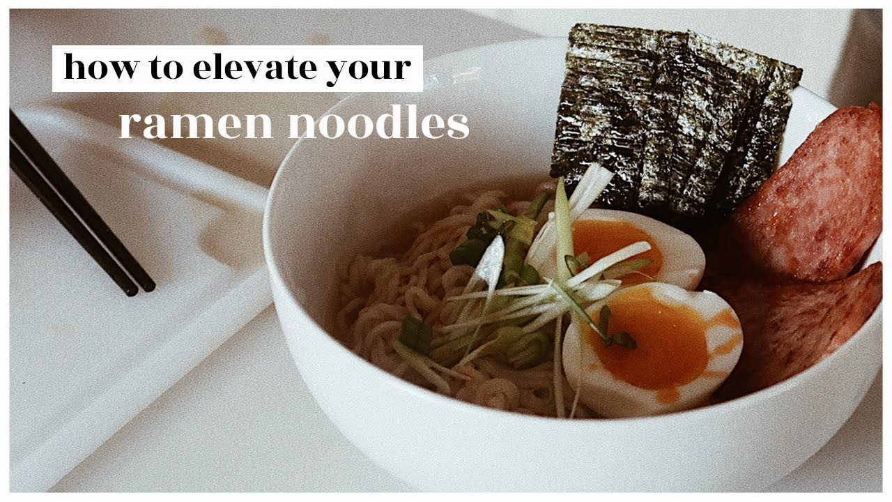 how to elevate your instant ramen | WahlieTV EP715
