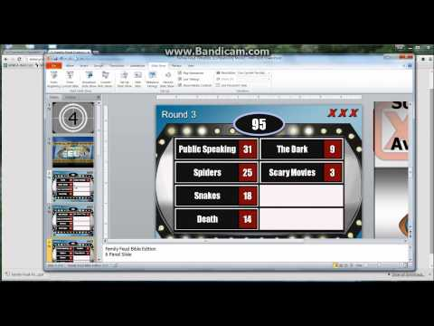 Family Feud Customizable Powerpoint Template Youth – Family Feud Power Point Template