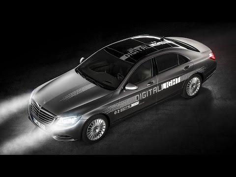 Mercedes-Benz Digital Light - Revolutionary headlamp technology #mercedesdigitallight