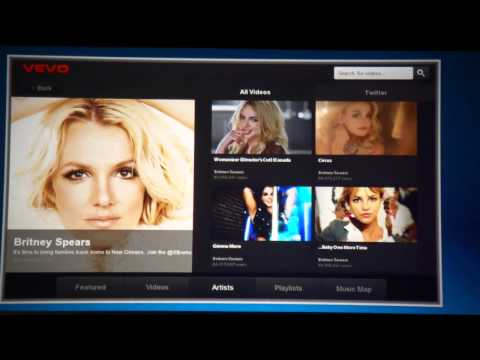 VEVO Music Video App for BlackBerry PlayBook Demo - BlackBerry World 2011