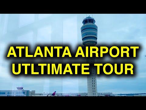 Atlanta Airport ATL Ultimate Tour With Hyperlapse (Hartsfield-Jackson Atlanta)