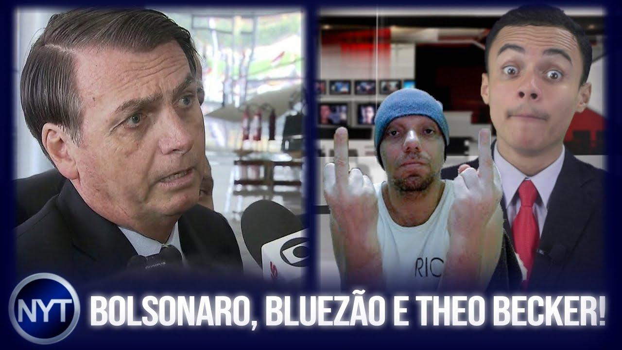 Bolsonaro fala sobre caso Marielle após insinuações contra ele, Bluezão critica NYT e Theo Becker