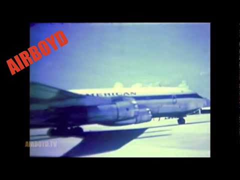 Pan Am Flight Departing Cam Ranh Bay (1969)