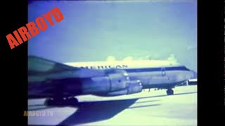 Pan Am Flight Departing Cam Ranh Bay (1969)