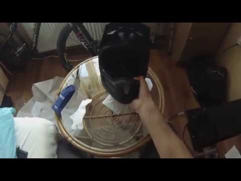 Fox Rampage (gen.6) 2014 Matte Black Downhill Helmet Unpacking