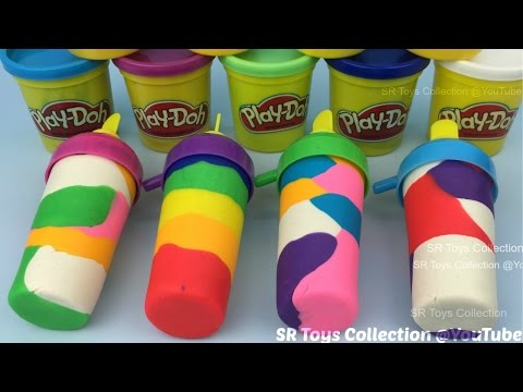 Do It Yourself Play Doh Ice Cream with Popsicles Molds Fun for Kids