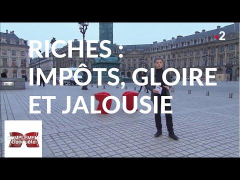 Complément d'enquête'. Riches : impôts, gloire et jalousie - 7 février 2019 (France 2)