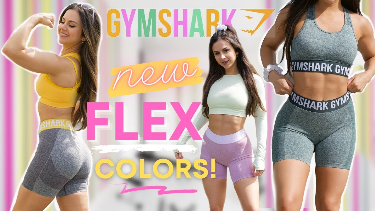Spring Vibes! NEW Gymshark Flex try on, haul, mix & match! | Gymshark new releases 2021