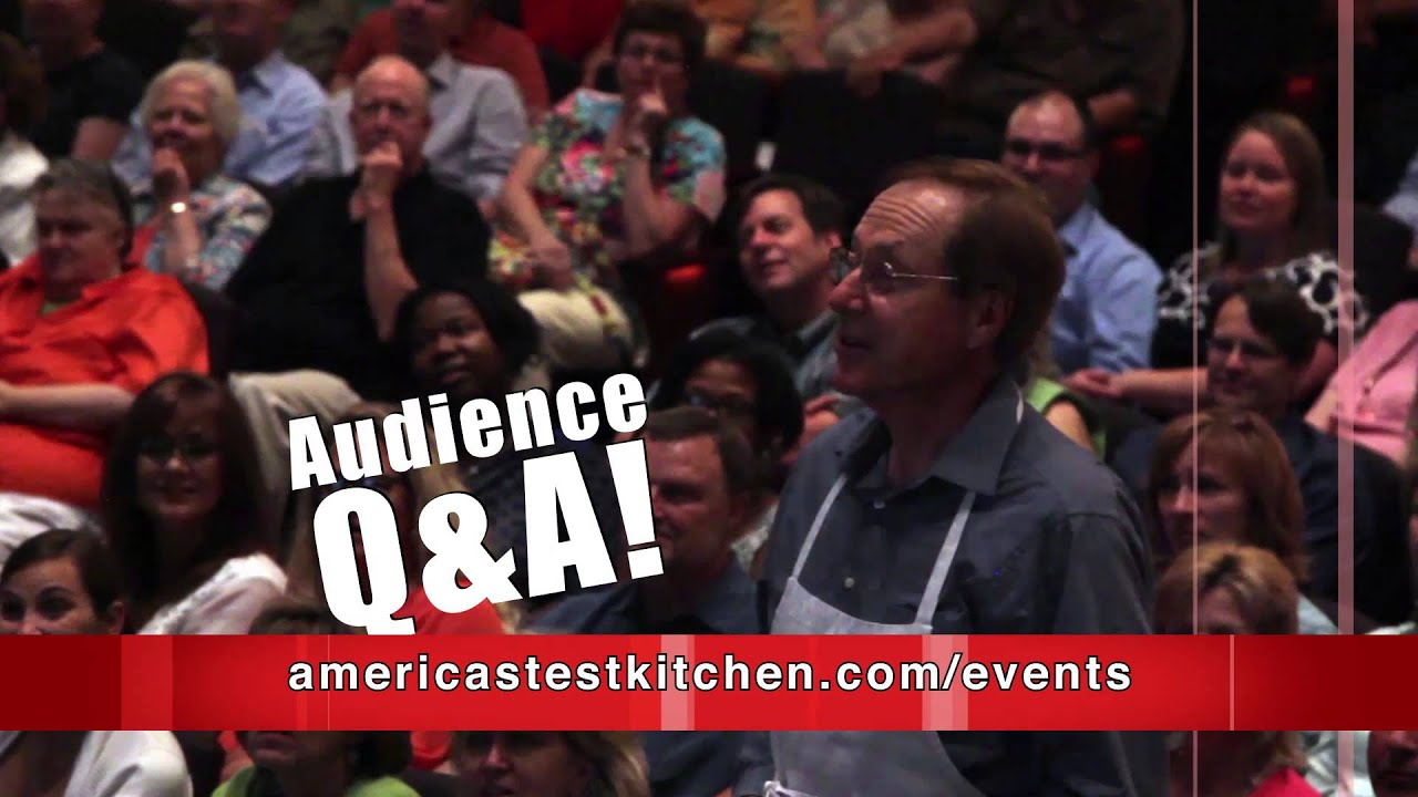 America S Test Kitchen Live Tour With Christopher Kimball