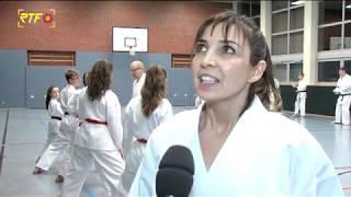 Besuch beim TSV Riederich Abteilung Karate