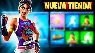 FORTNITE'S NEW STORE TODAY JULY 26 NEW WORLD WARRIOR SKIN AND FREE LOGO