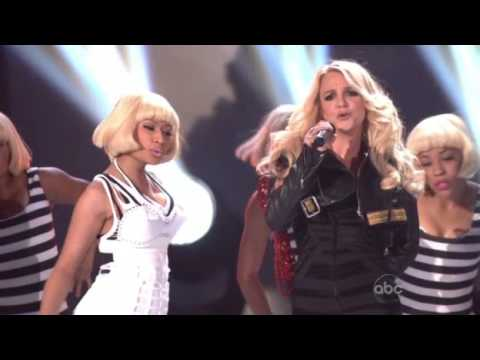 Britney Spears Feat Nicki Minaj Till The World Ends Live Billboard Music Awards 2011 Youtube