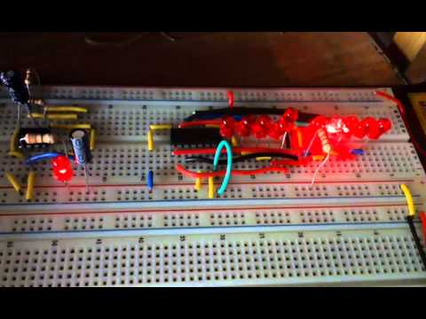 555閃燈電路加電容測試   Doovi