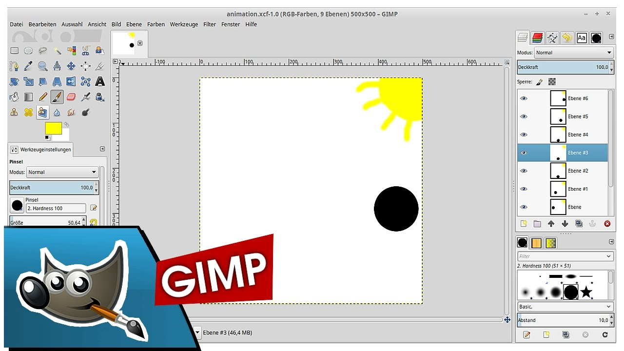 How to create an animated gif in gimp youtube how to create an animated gif in gimp negle Choice Image