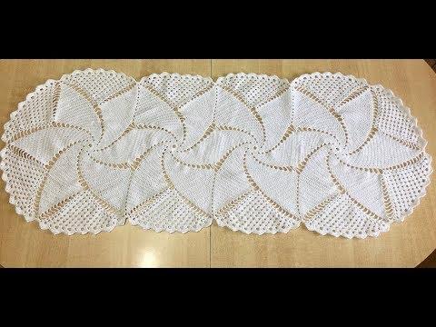 Tuto Chemin De Table Tapis Au Crochet