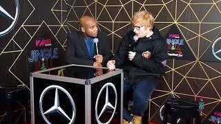 Ed Sheeran Talks About His Amazing 2017 Backstage at Z100 Jingle Ball