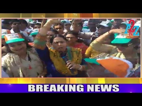 Jamakhandi By-Polls || MLA, Lakshmi Hebbalkar Attended Road Show, Canvas ಜಮಖಂಡಿ ಉಪಚುನಾವಣೆ, A2Z TV