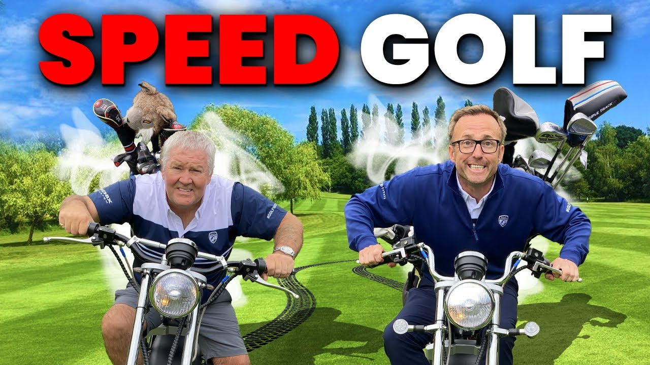 FASTEST GOLF MATCH IN THE WORLD - GOLF ON MOTORBIKES