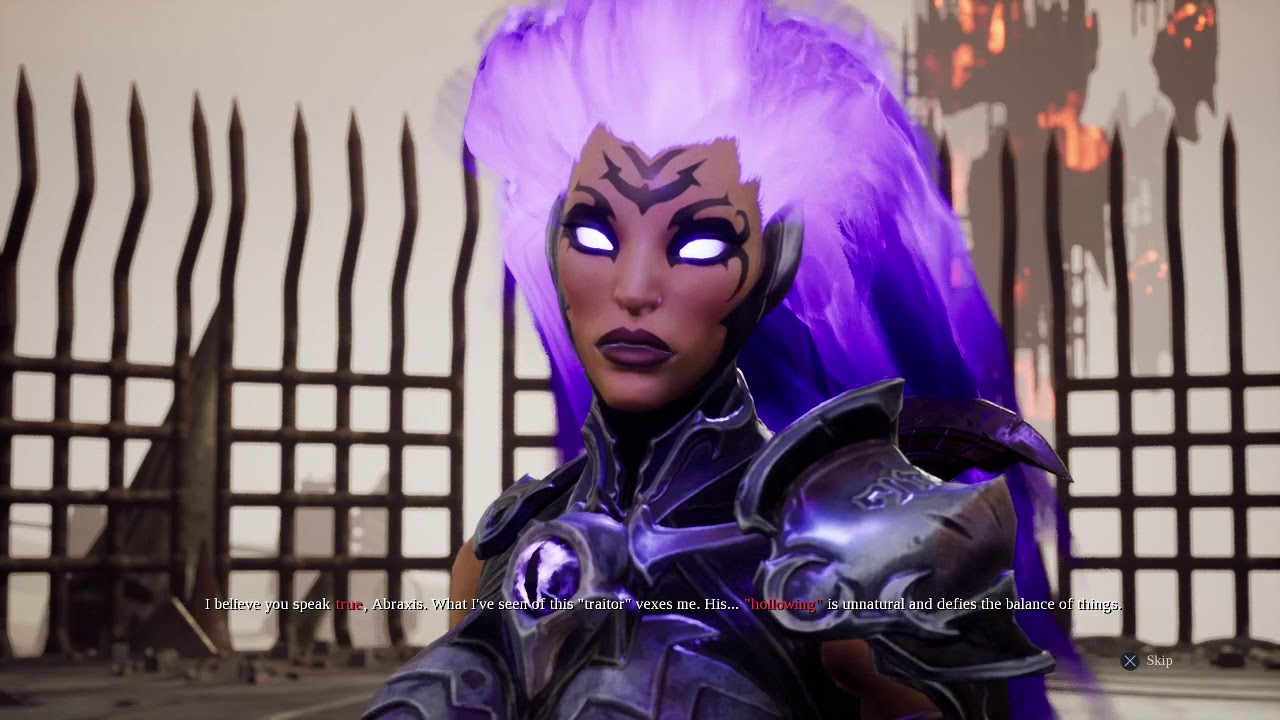 DarkSiders III Killing the lord of Hollows instead of Abraxis