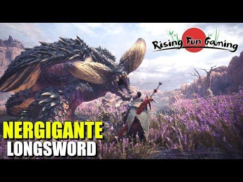 Monster Hunter World Beta 3: Nergigante and Longsword