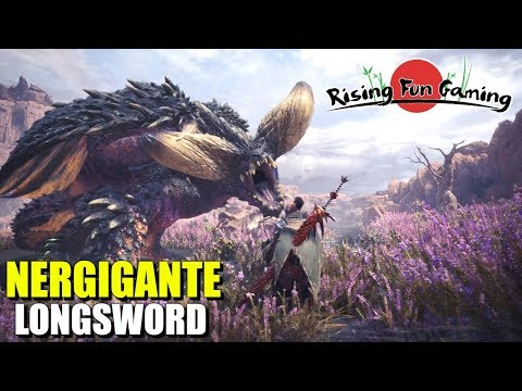 Monster Hunter World Beta 3: Nergigante and Longsword