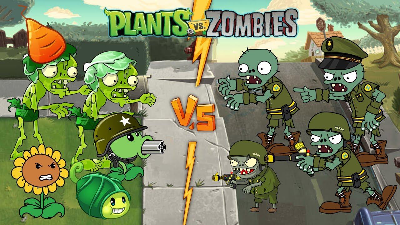 Plants Vs Zombies GW Animation - Episode 09 - Plant WIN!!!