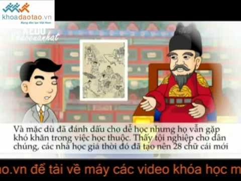 Học Tiếng Hàn Sơ Cấp Bằng Phim Hoạt Hình   Bài 1  Câu Thần Chú   Vui Học Tiếng Hàn