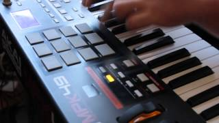 Akai Mpk49 + FL Studio + Addictive Drums + Freestyle only Drum (DJ Jimmy)