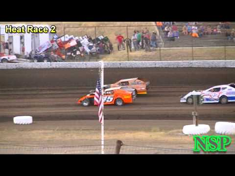8-15-2014 Modifieds Heat Races 1 & 2 Gallatin Speedway