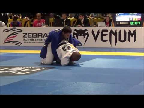 Marcus Almeida x Bruno Bastos- IBJJF Pro League GP 2016 - Quarter Final
