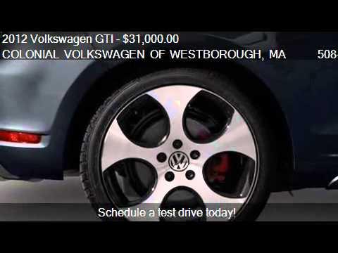 2012 Volkswagen GTI 2-Door Autobahn w/PZEV (M6) - for sale i